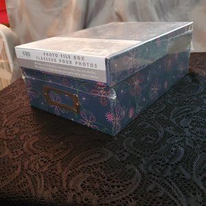 NEW in package photo file box